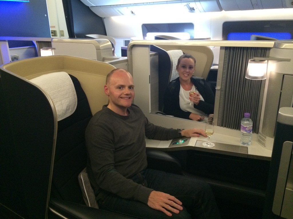 First Time Flying First Class With British Airways