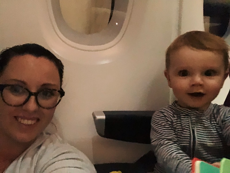 Flying with a baby to Australia