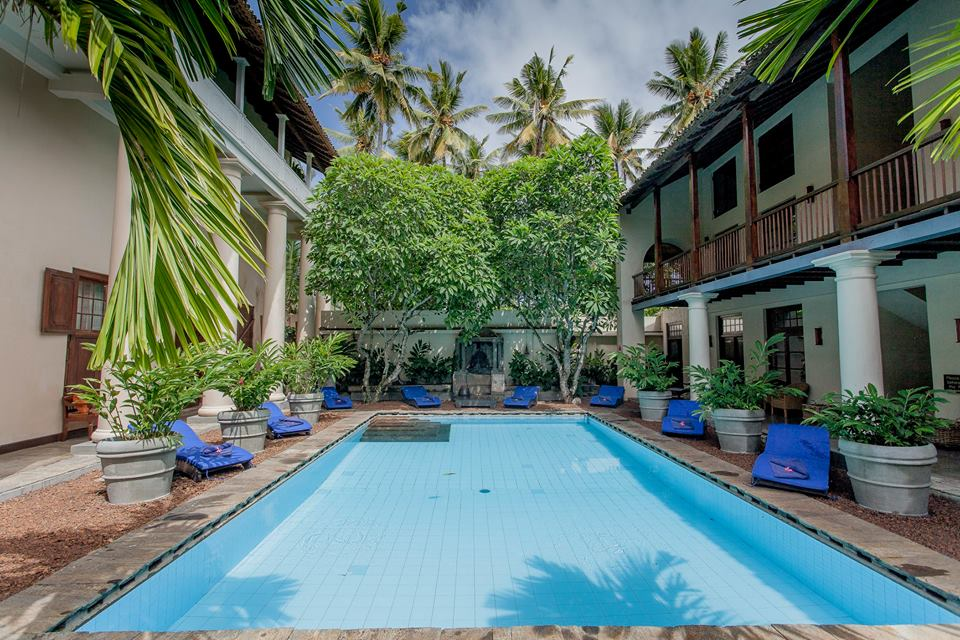 The glorious Galle Fort Hotel