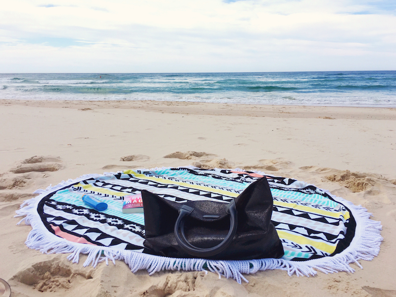 gift for stylish traveller round towel