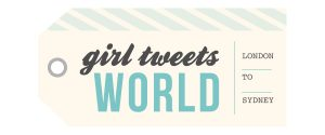 girl tweets world logo