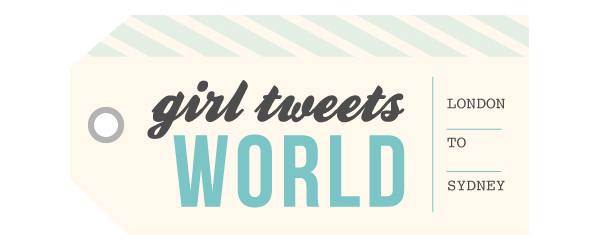 girl tweets world
