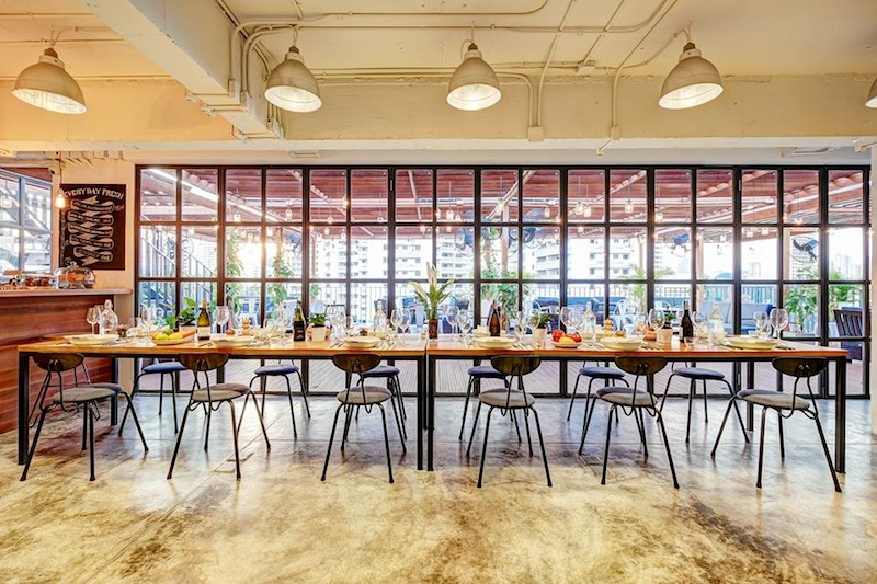 Cool co-working space at The Hive, Bangkok
