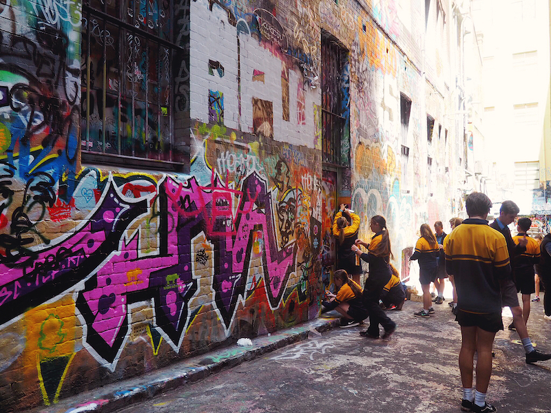 Hosier Lane field trip