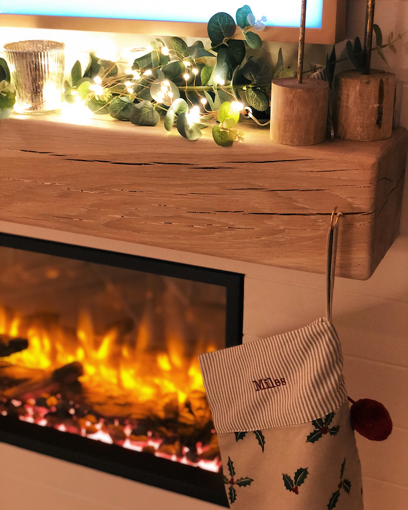 Fireplace for christmas