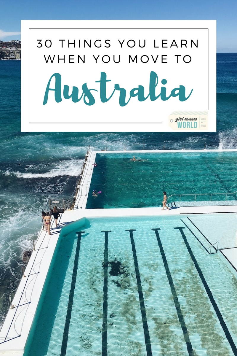 Some of the unusual things you'll discover if you move to Australia. A British expat's take on life Down Under. #australia #expat #movetoaustralia #livinginaustralia