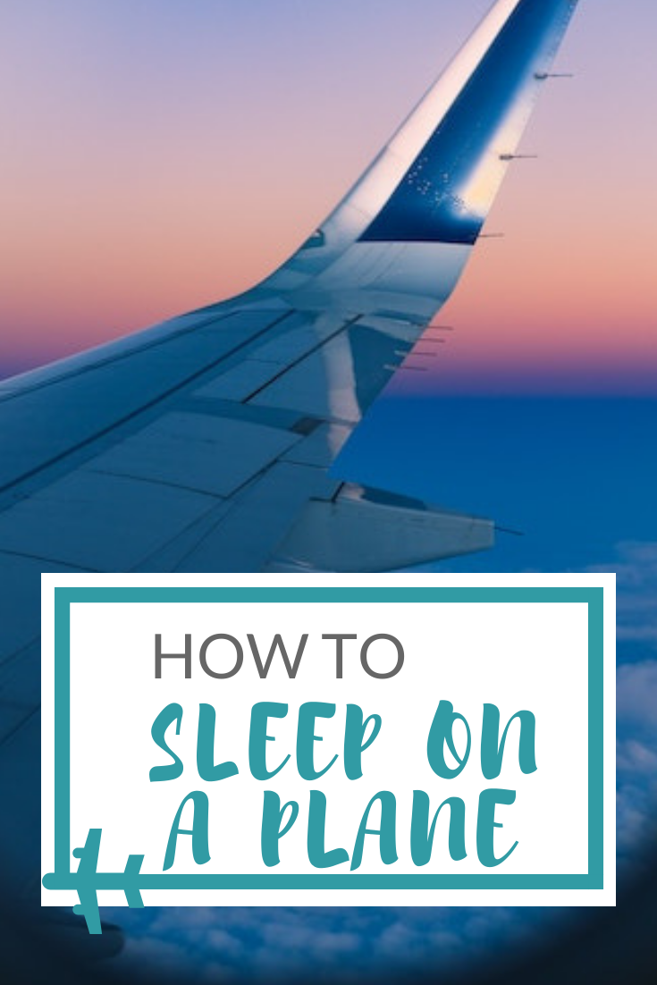 how to sleep on a plane in economy class