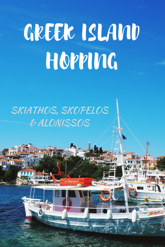 Guide to island hopping in the Sporades Greece