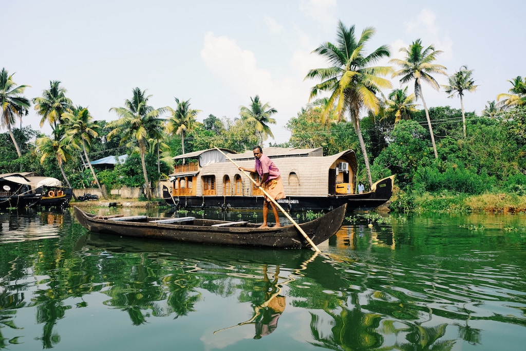 Another Side to India - The Kerala Backwaters