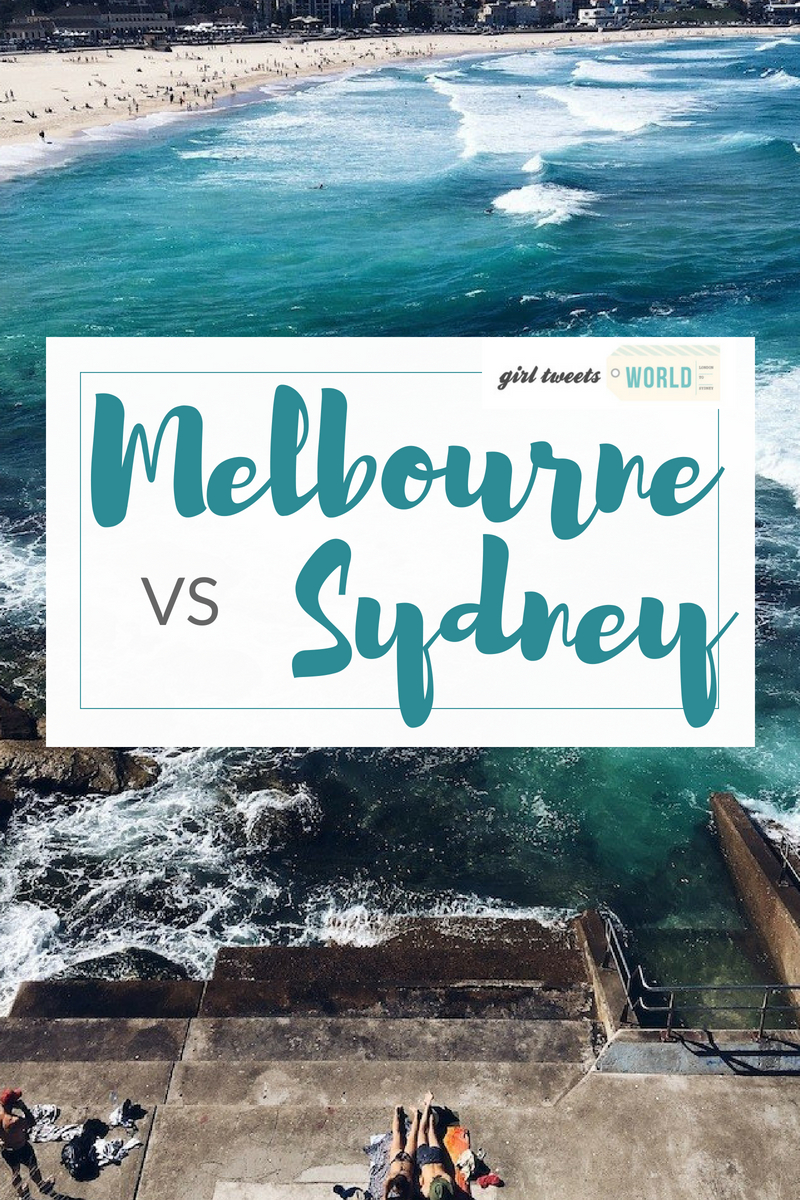 Which city is better to live in - Sydney or Melbourne? A British expat's thoughts after living in both. #aussieliving #livinginausralia #melbourne #sydney #expat