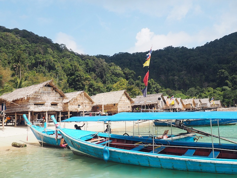 Visiting the Moken Sea Gypsy Village on a daytrip to the Surin Islands
