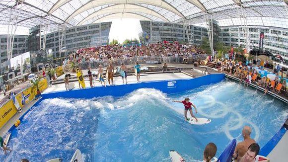 Catch a wave at Munich Airport