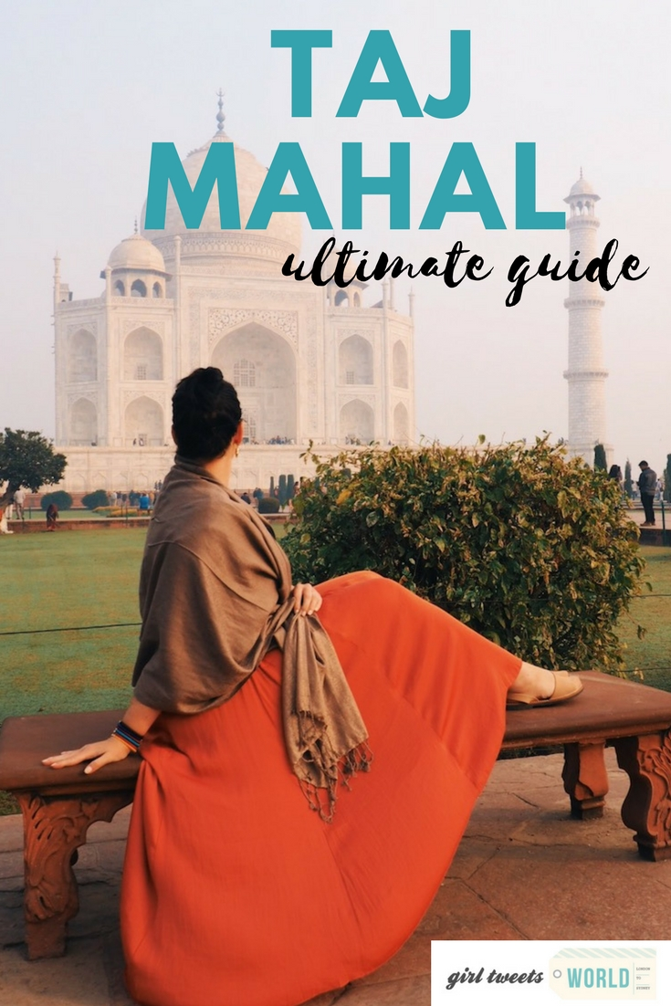 Everything you ever wanted to know about visiting the Taj Mahal - one of the 7 New World Wonders in Agra India - including how to get epic photos.