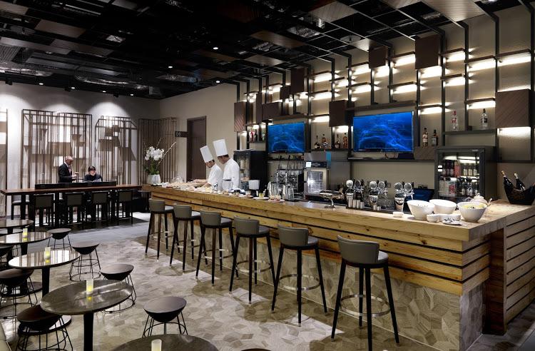 Plaza Premium Lounge at LHR