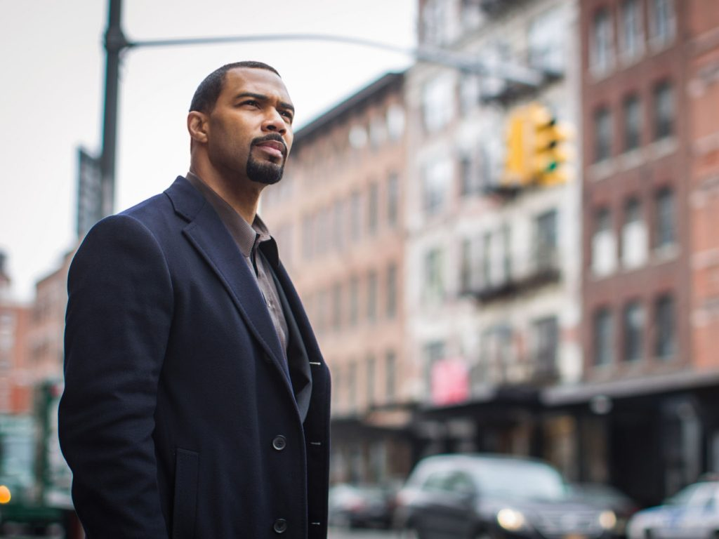 Hello handsome. Omari Hardwick stars as Ghost in Power