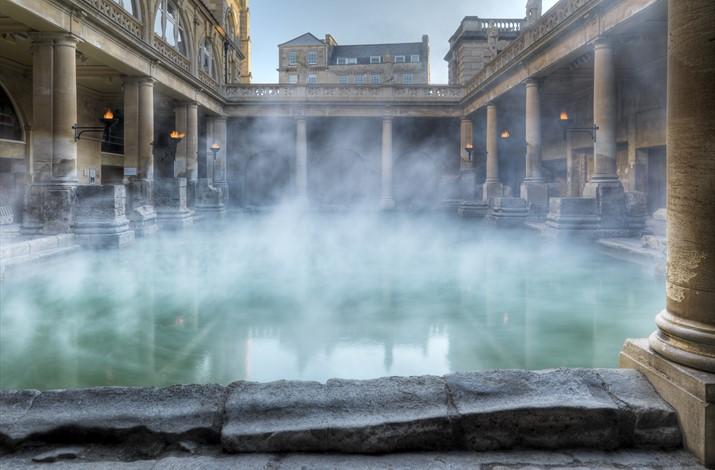 Roman Baths bu visitbath.co.uk
