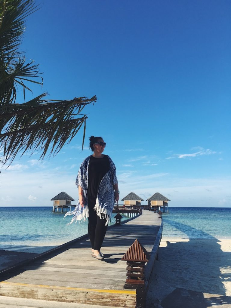 Solo in the Maldives