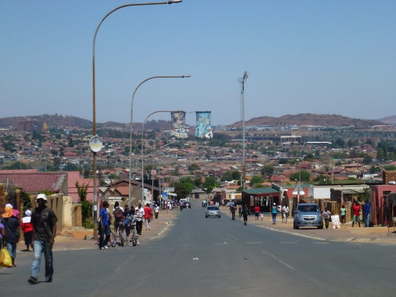 Cycling Soweto