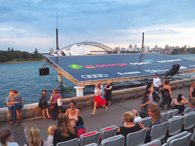 St George open air cinema in Sydney