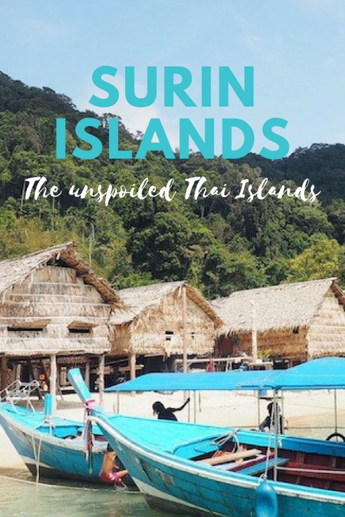 Surin Islands - the unspoiled Thai Islands