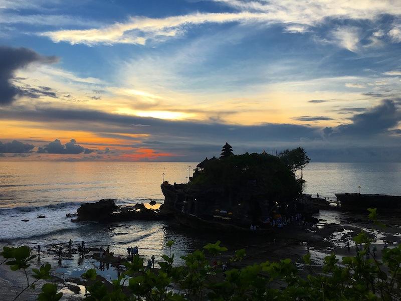 Tanah Lot near Canggu Bali