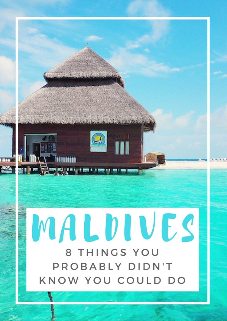 8 unique things to do in the Maldives