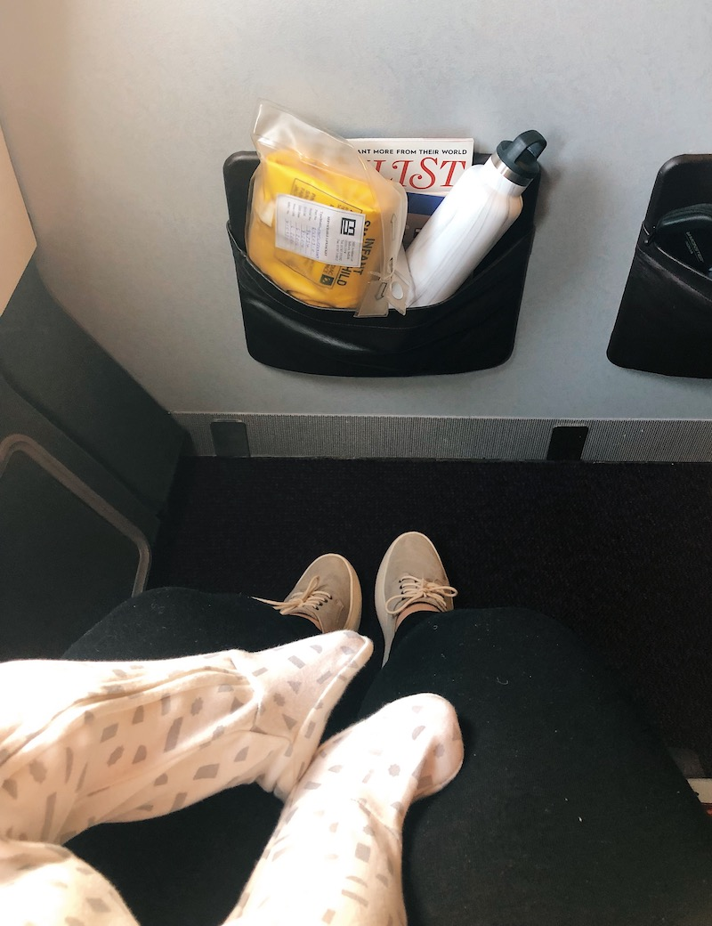 tips for flying long haul with a baby