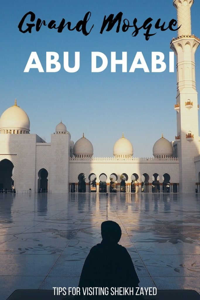 tips for visiting Sheikh Zayed Grand Mosque Abu Dhabi