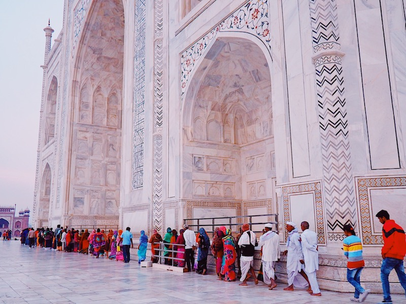 Best time to visit the Taj Mahal