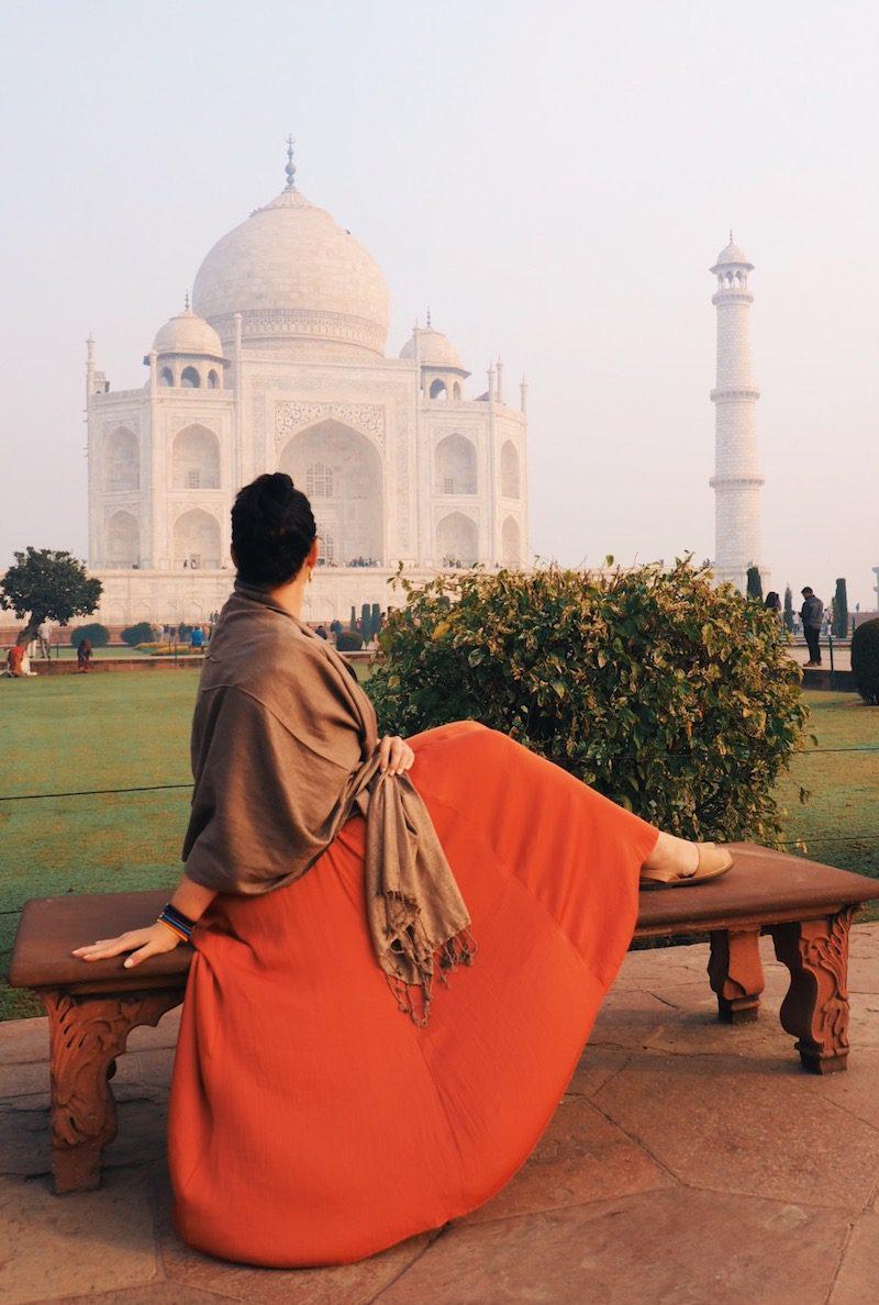 Tips for taking photos at the Taj Mahal