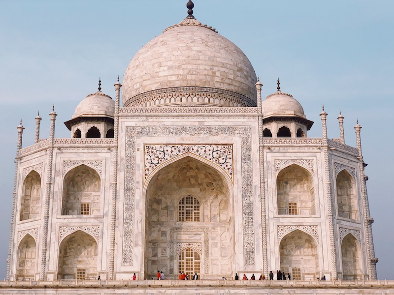 Tips for taking photos of the Taj Mahal