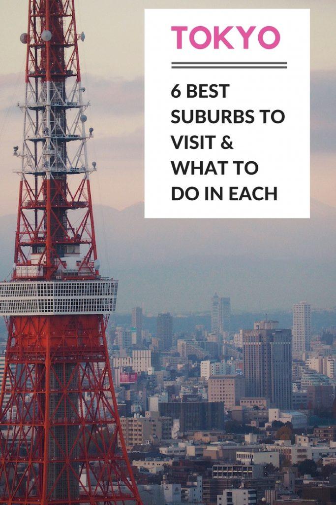 Tokyo neighbourhood guide