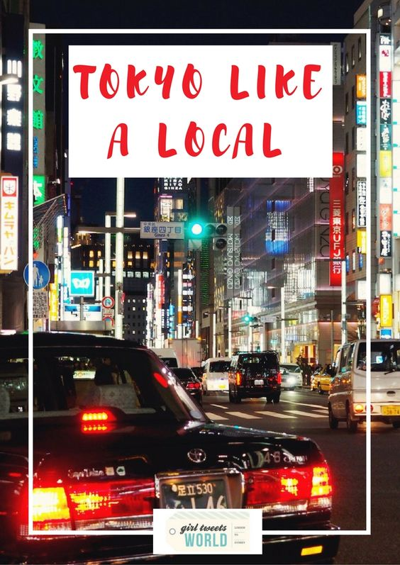 Explore Tokyo like a local