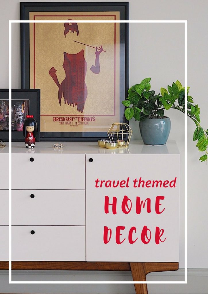 travel themed home decor - travel bloggers' share