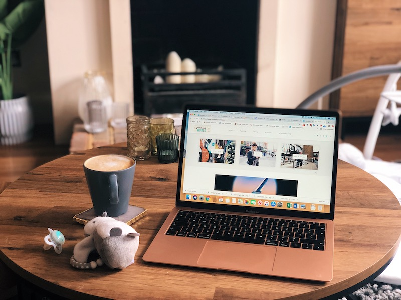 Tips for bloggers, freelancers and self-employed mums on maternity leave