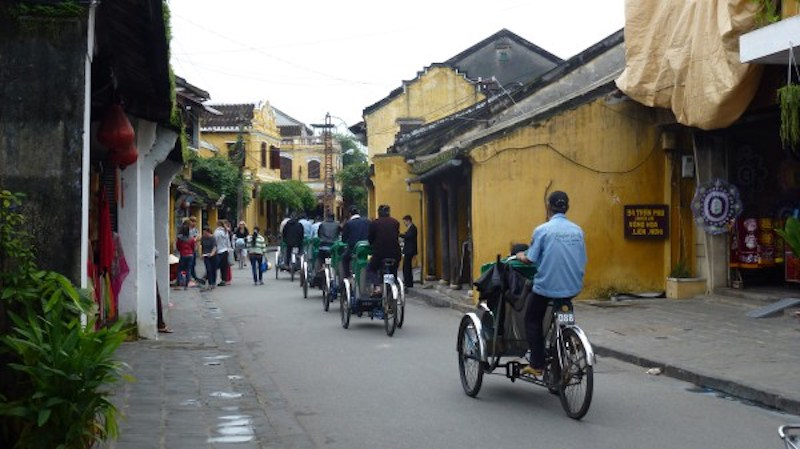 Cyclo in Hoi An Vietnam