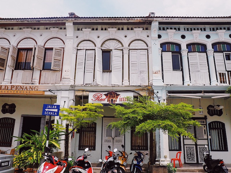 Where to stay in George Town Penang