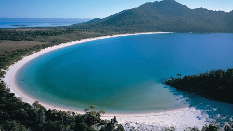 Wineglass Bay by Tourism Tasmania